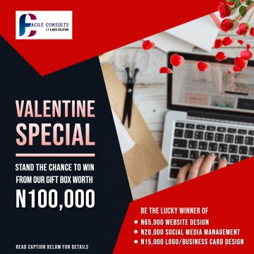 VALENTINE SPECIAL: Win Our N100,000 Gift Box
