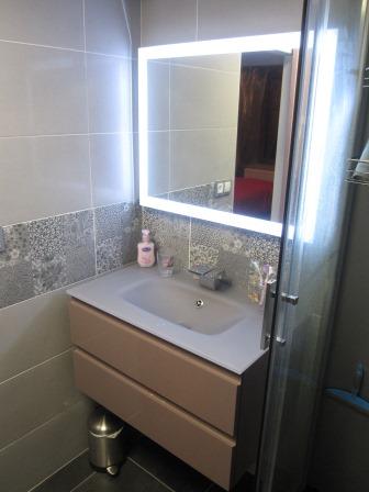 création salle de bain moderne Isère