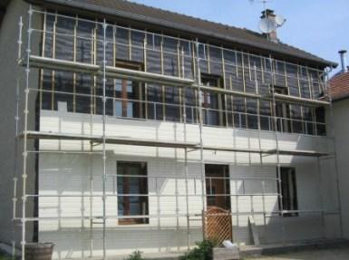 Isolation extérieure maison Saint Marcellin Isère