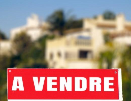 panneau d'agence immobilière