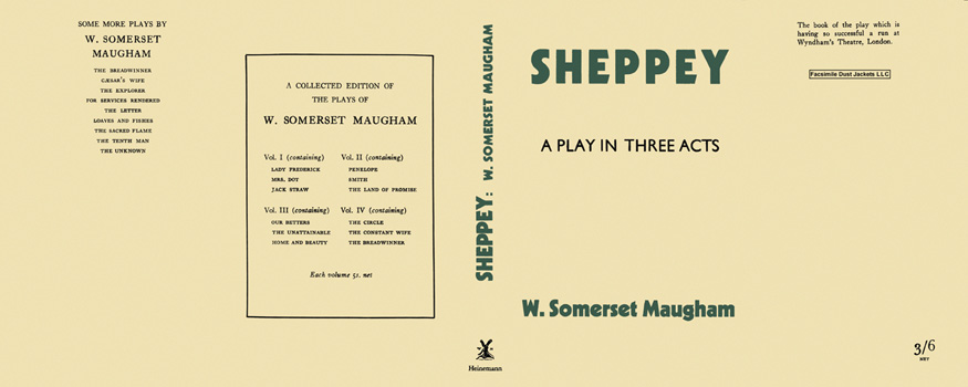 Sheppey. W. Somerset Maugham.