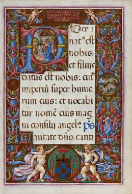 Missal of the Nativity, f. 10r