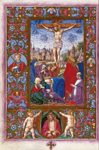 The Crucifixion, f. 65v
