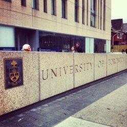 At the University of Toronto