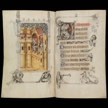 Digital gallery of Hours of Jeanne d'Evreux