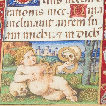 Detail from the Sforza Hours
