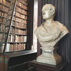 Newton's bust