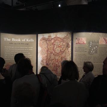 Kells' exhibition crowd - Facsimile Finder