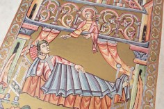 A detail from the Codex