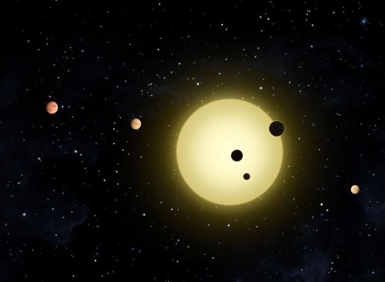NASA: Ηλιακό σύστημα με αντίστοιχο αριθμό πλανητών με το δικό μας