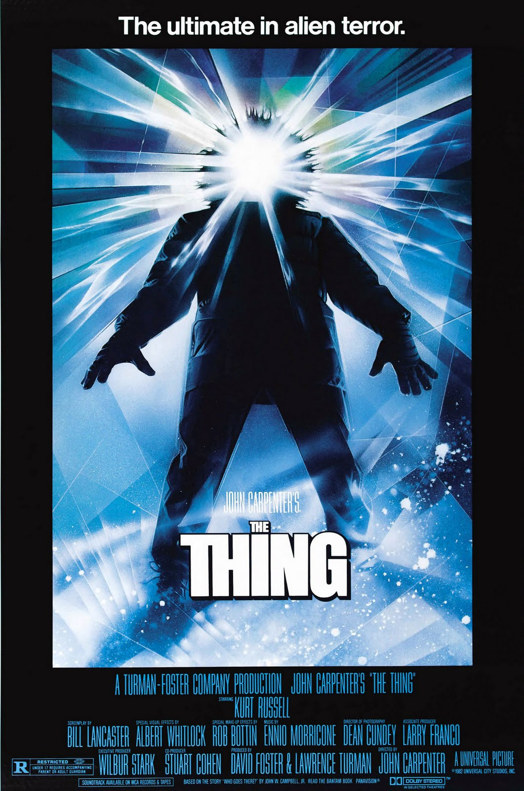 Image result for the thing poster