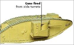 """DEPÓSITOS EN BATALLA<br /><br /><br /><br /> """" /></p> <div> <p>Los tanques fueron una invención británica.Aparecieron por primera vez en 1916 y fueron utilizados en la batalla de Cambrai, Francia, en 1917.Los tanques fueron blindado.Sus pisadas podían cruzar trincheras fangosas y accidentes a través de alambre de púas.</p> </div> </div> </div> </div> </div> <div lang="""