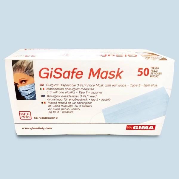 Mascherina Chirurgica GiSafe Mask FactorFarma