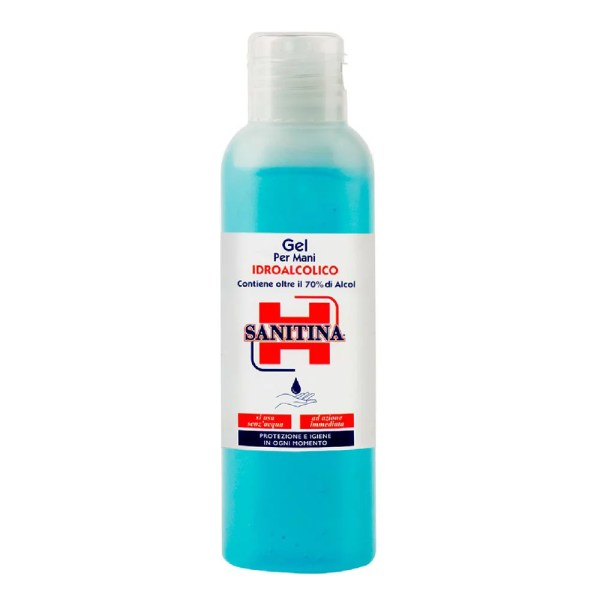 Sanitina Gel Idroalcolico 125 ml - 70%