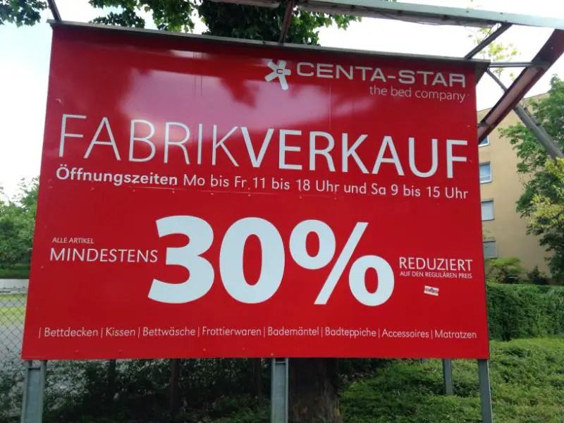 Centa Star Fabrikverkauf Stuttgart Schwabisch Sparen Factory