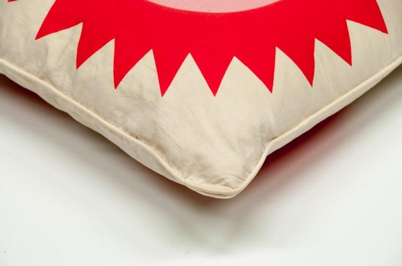 alexander girard sun heart pillow