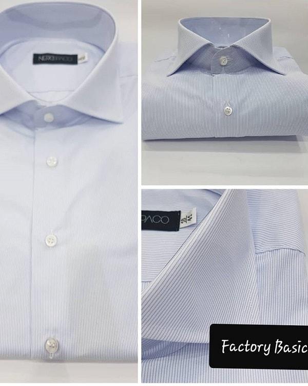 Camicia Da Uomo Mille Righe Made In Napoli