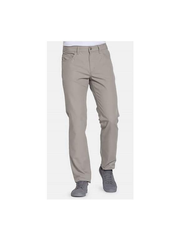 Pantalone Tela da Uomo Carrera 700 Regular Beige