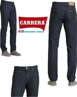 Jeans da Uomo Carrera 700 Regular Blu Scuro