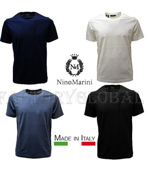 Filo Di Scozia T-Shirt Sottogiacca Nino Marini