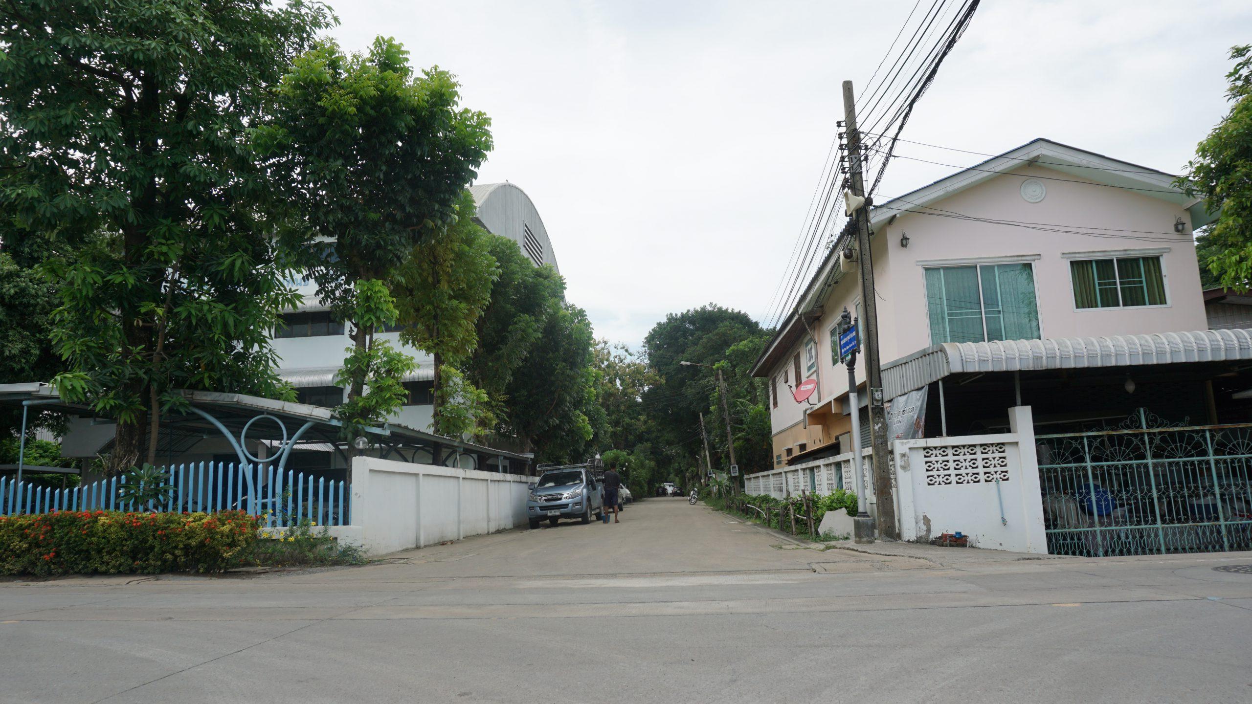 ขายที่ดิน นนทบุรี ปากเกร็ด ติวานนท์ พระแม่มหาการุณย์ 482 ตรว ราคาถูก