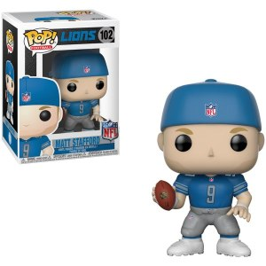 Detroit Lions Matthew Stafford Funko Player POP Figurine