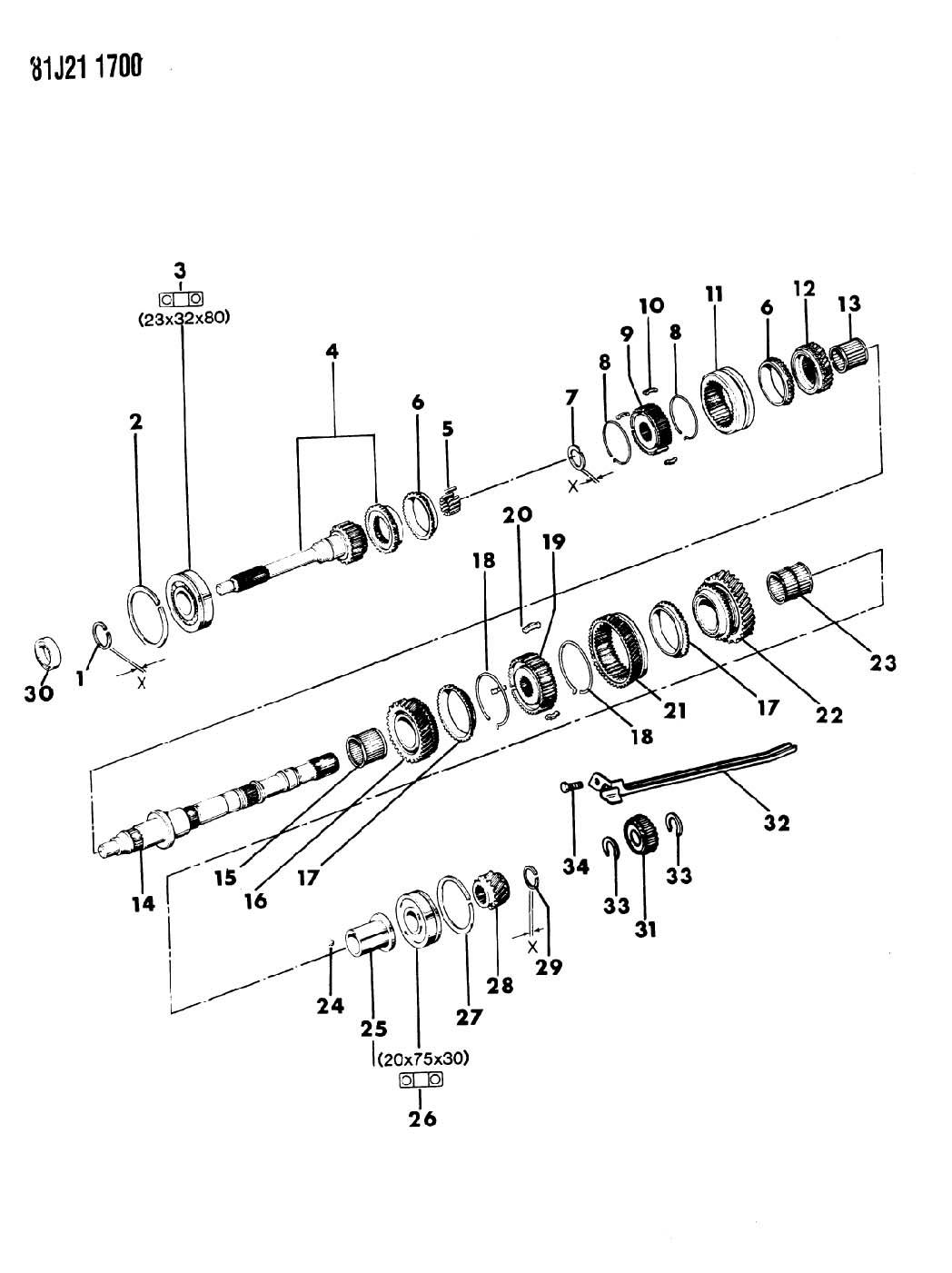 Jeep Wrangler Gear Reverse Gear Reverse Gear Reverse