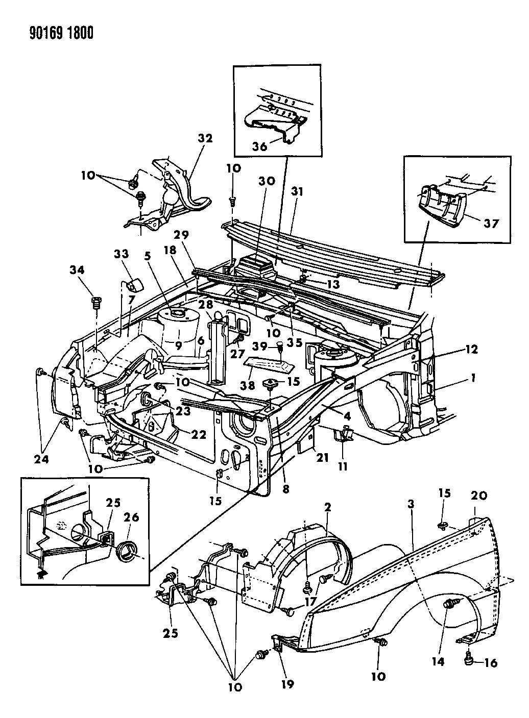 Jeep Grand Cherokee Plug Splash Shield Acc Plugclutch