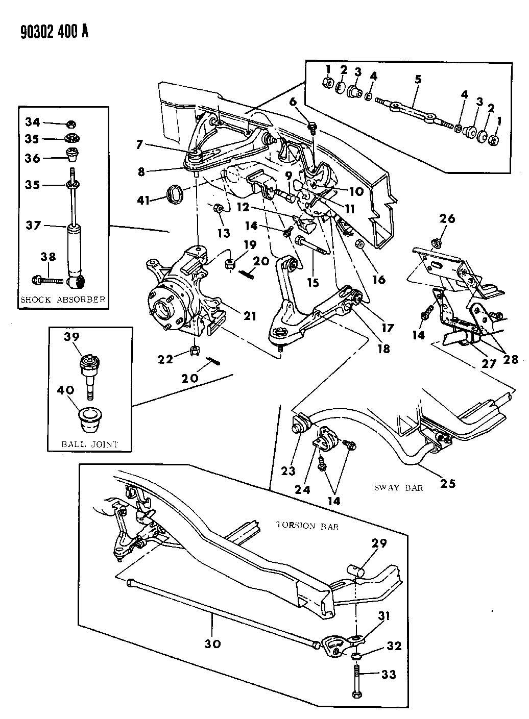 Dodge Dakota Swivel Torsion Bar Steelgvwpayload