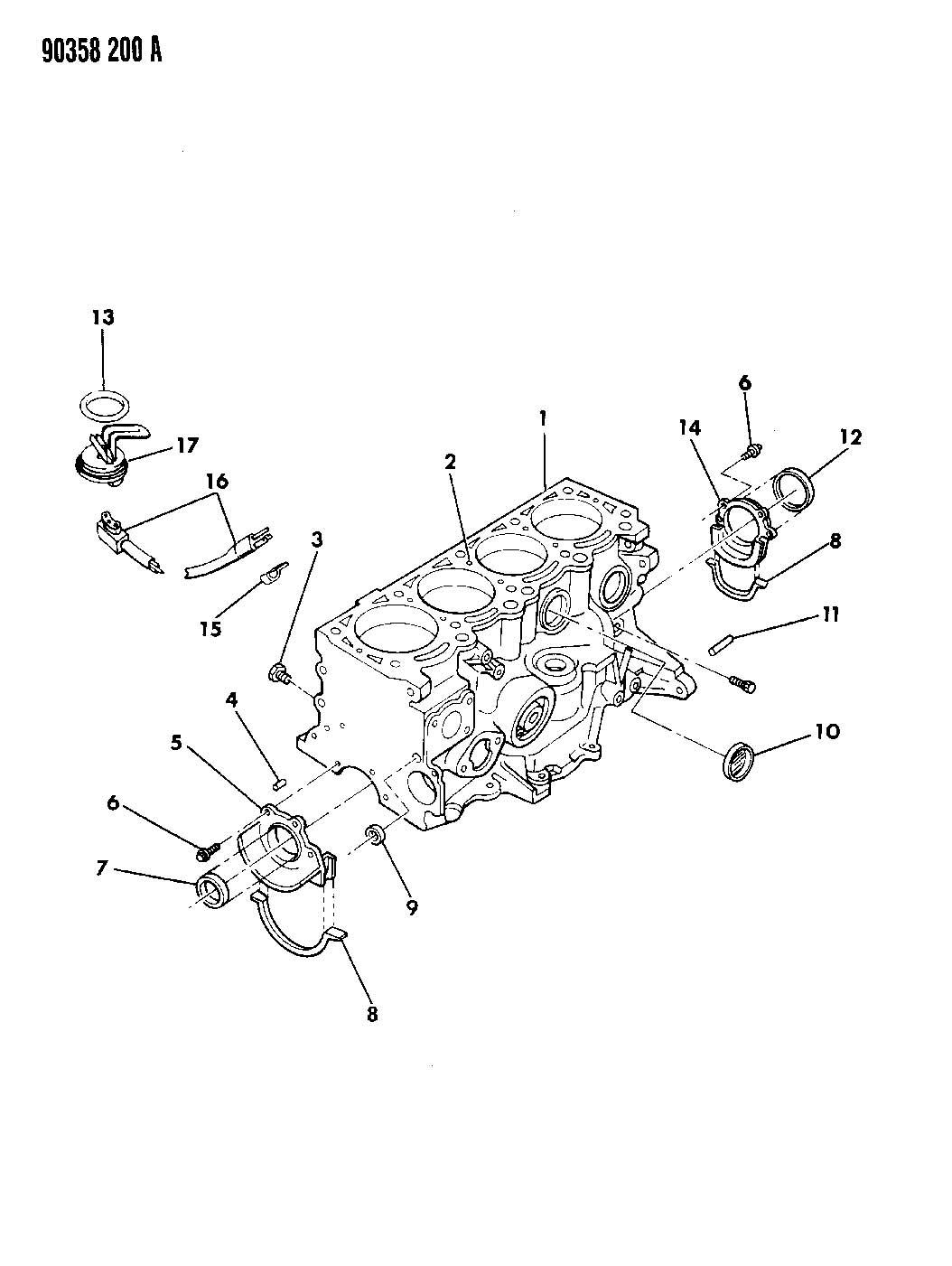 Dodge Grand Caravan O Ring Engine Block Heater Width