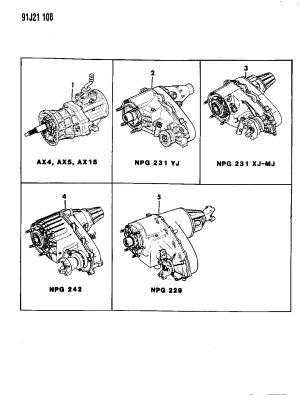 1995 Jeep grand cherokee transmission diagram