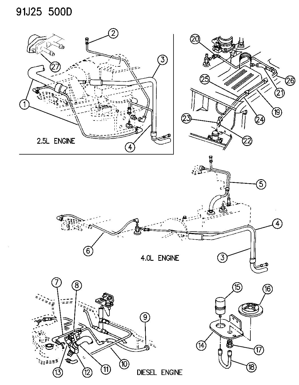 Jeep Jk Engine Part Schematic