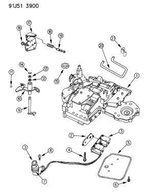 Dodge 46re Transmission Wiring Diagram | Wiring Library