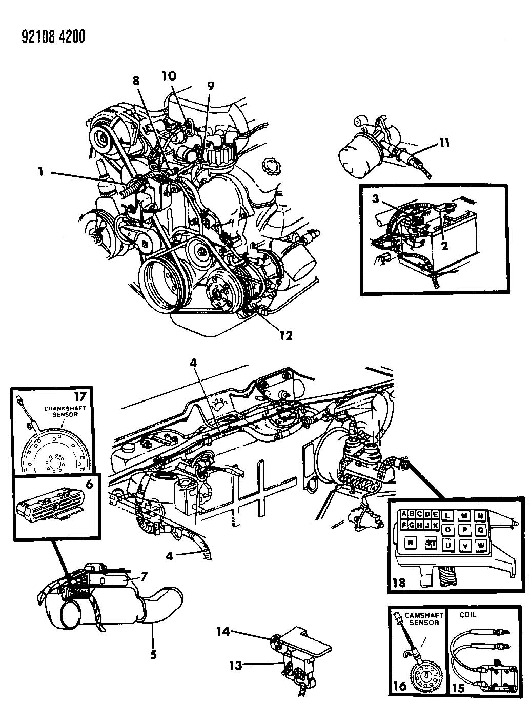 95 Plymouth Acclaim Engine Diagram Plymouth Auto Wiring