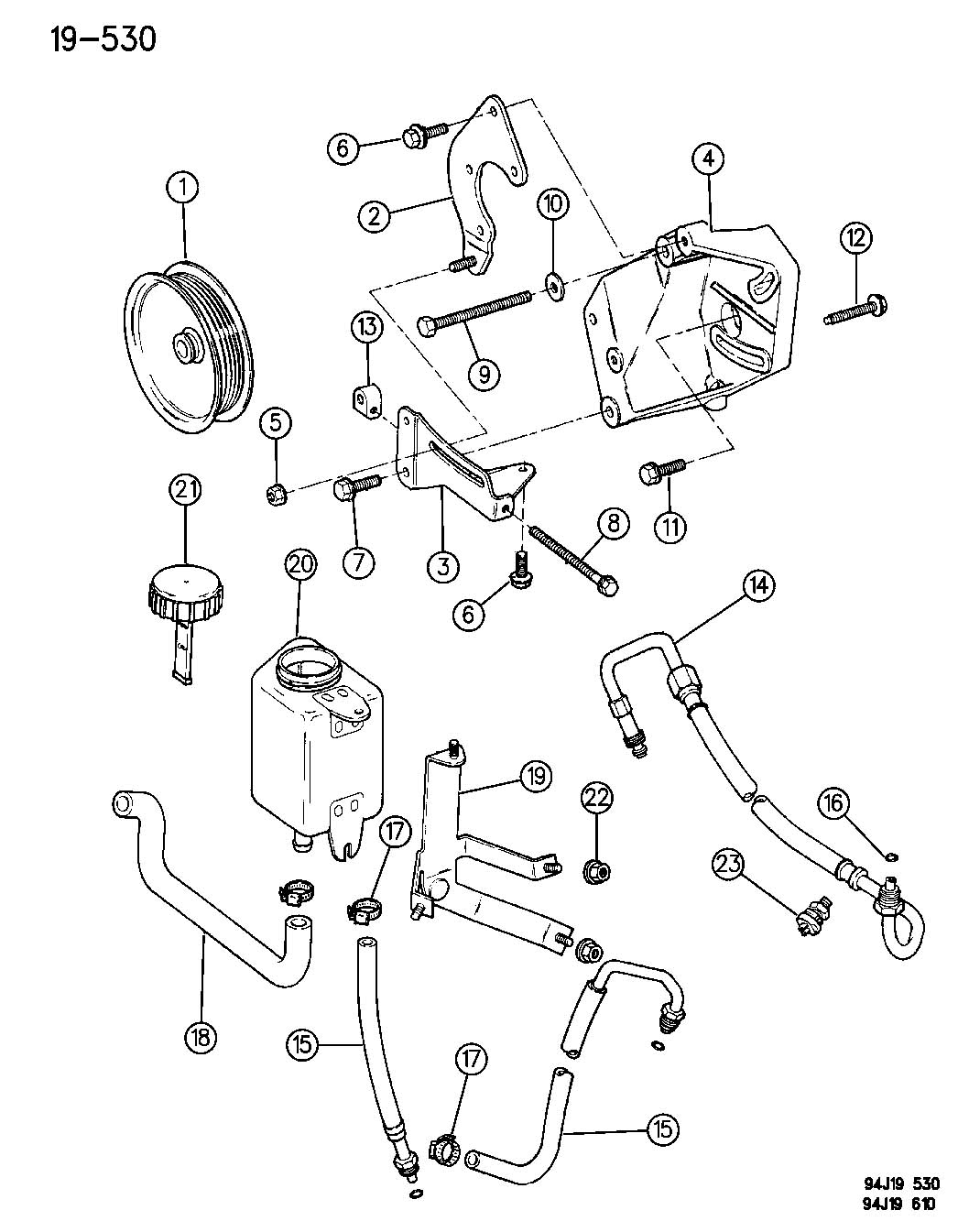 Jeep Grand Cherokee Power Steering Engine Diagram Jeep