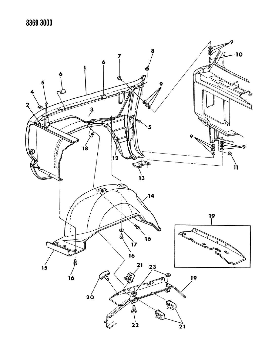 Dodge Ram Retainer Hood Insulation 415x 690