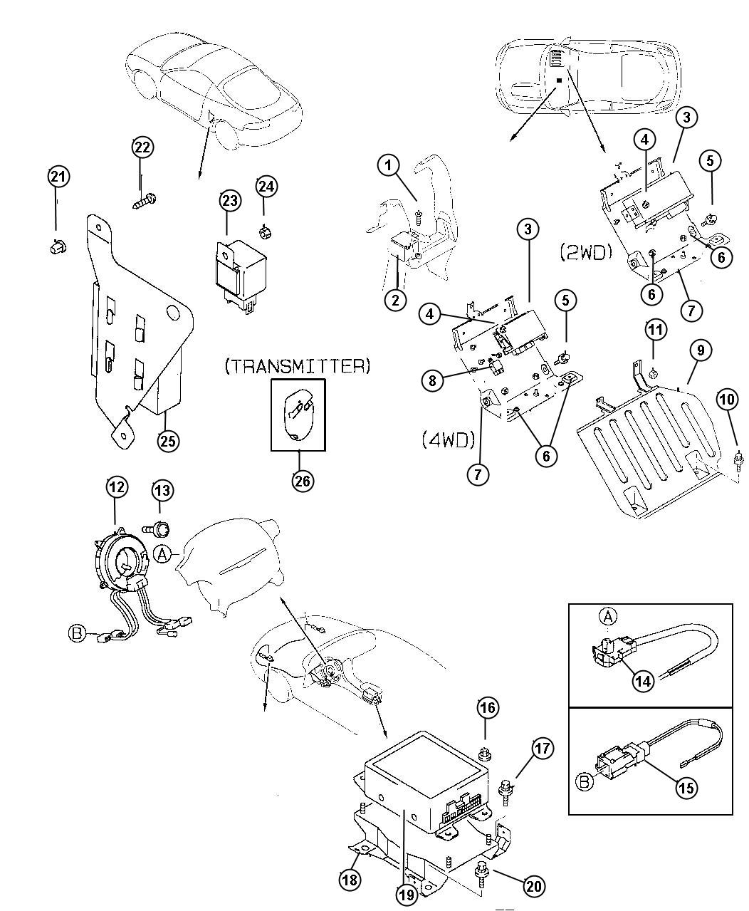 Diagram Dodge Ram Remote Keyless Entry Wiring