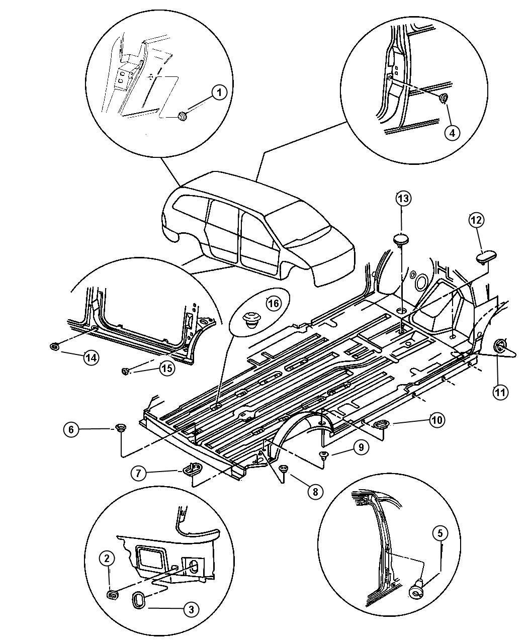 Chrysler Grand Voyager Se Plugs
