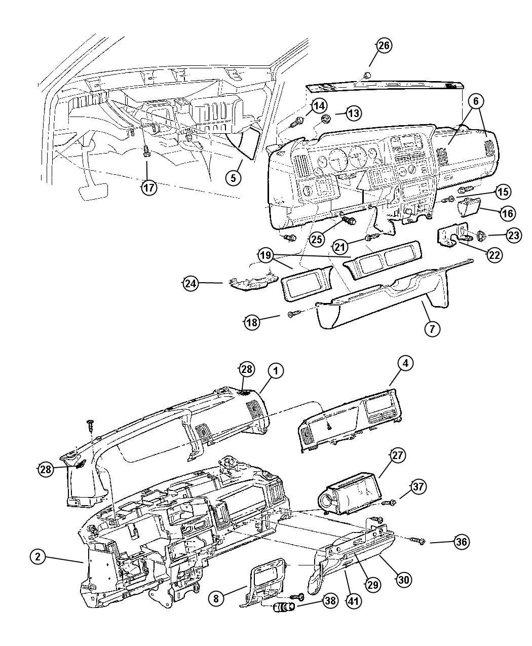 Jeep Grand Cherokee Panel Fuse Box Access Trim O0