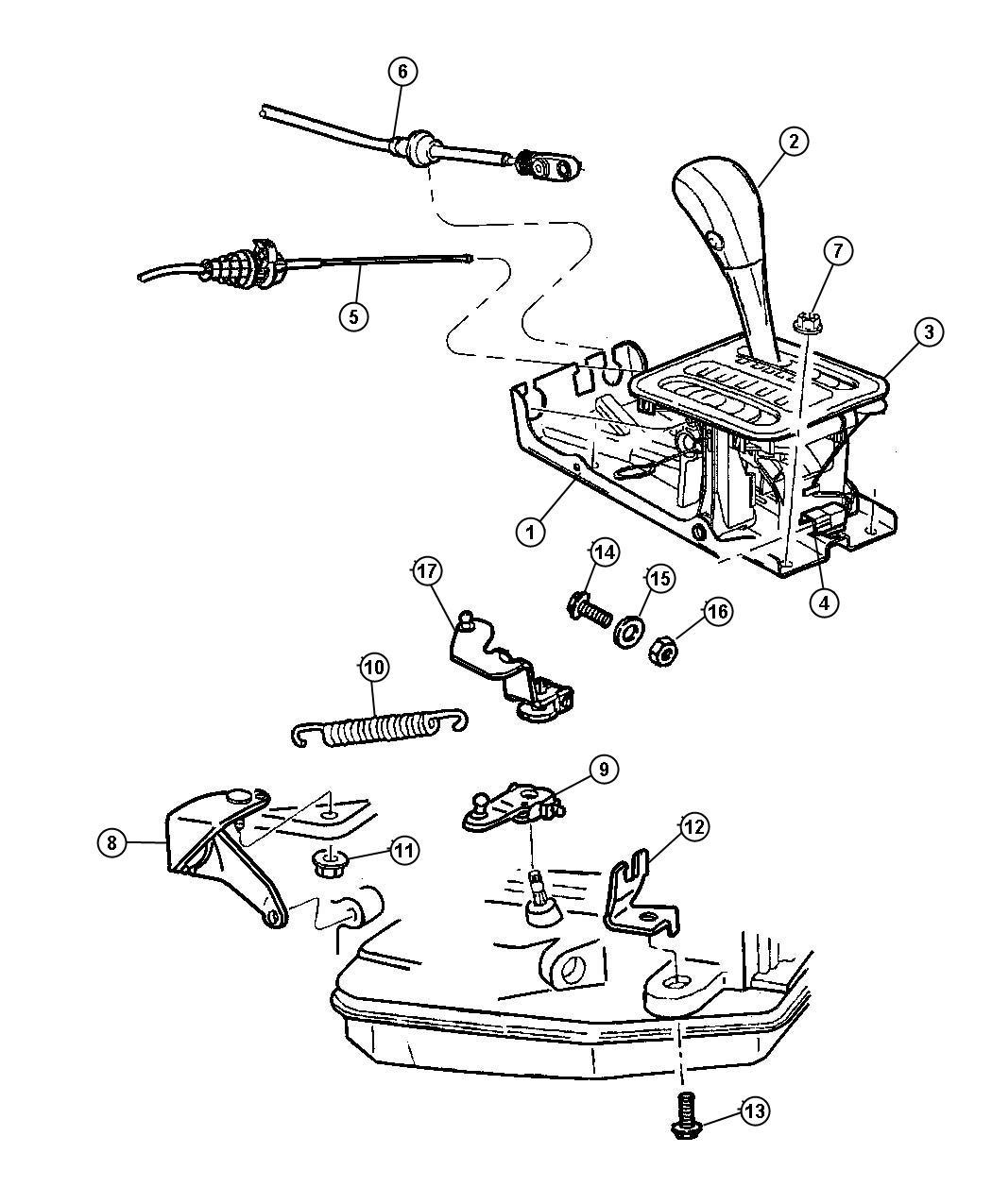 Plymouth Prowler Bezel Gear Shift Indicator