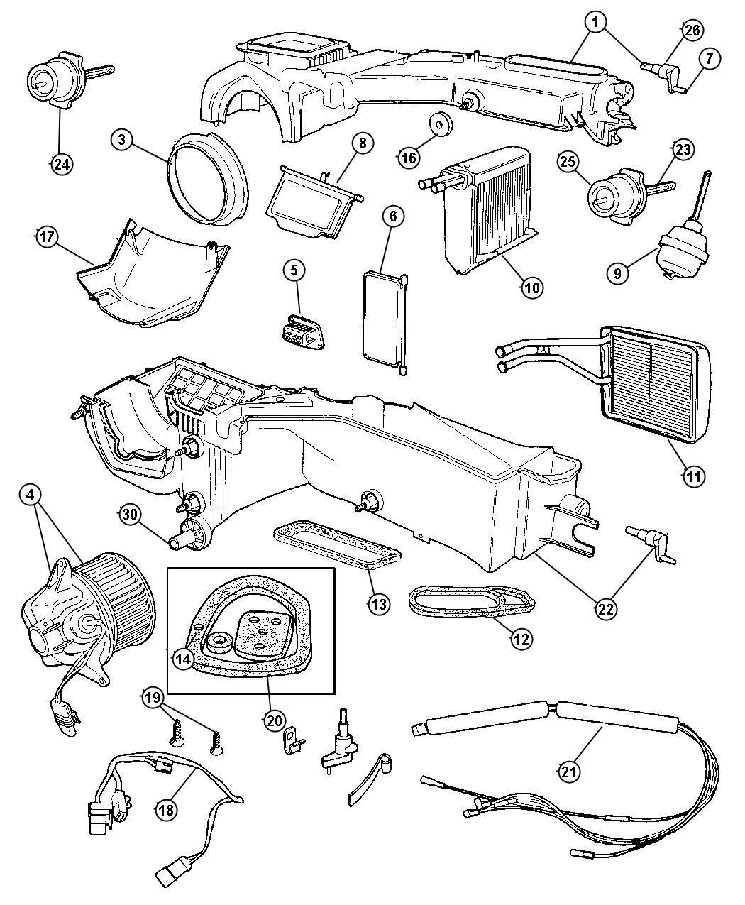 Jeep Wrangler Actuator Egr Vacuum Vacuum Recirculating