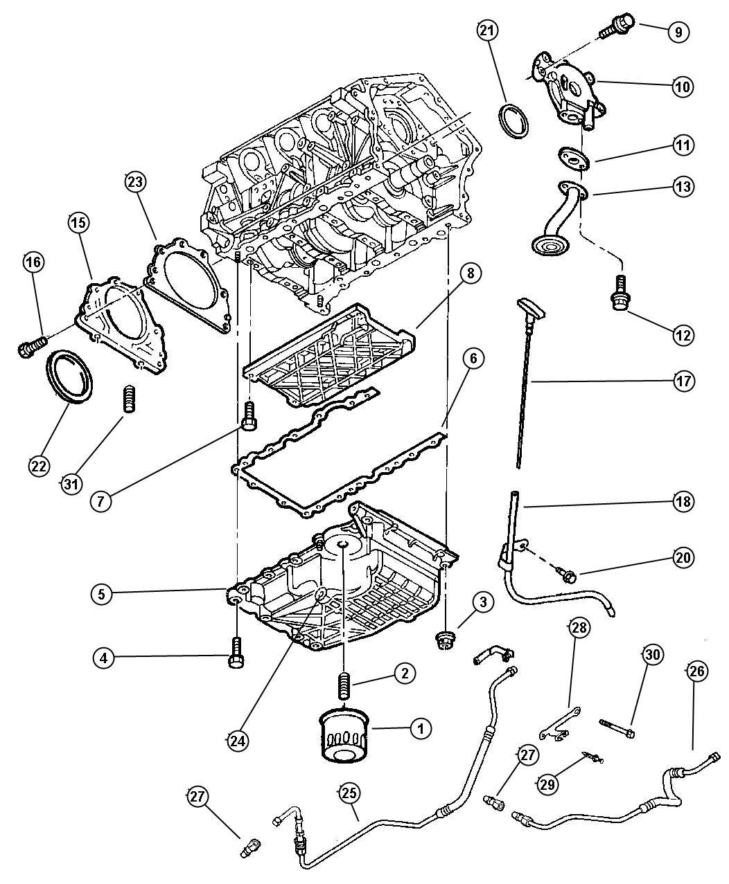 Dodge 2 7 Liter Engine Diagram