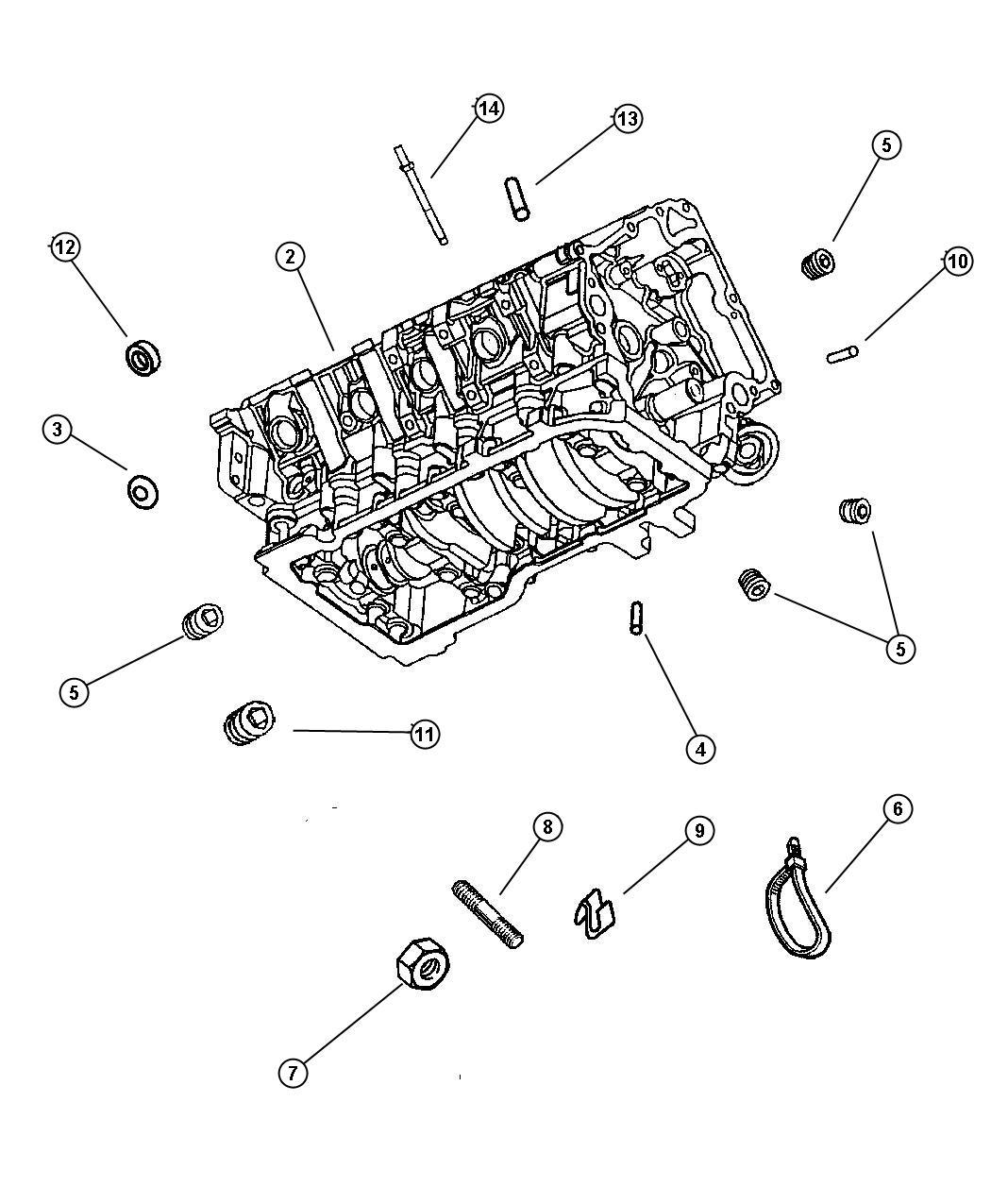 Dodge Caliber Strap Tie Coolant Bottle