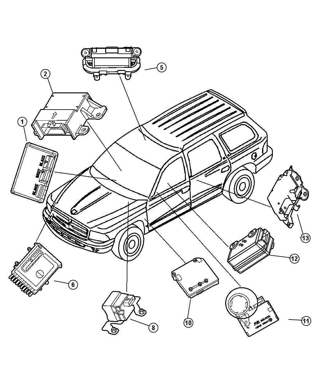 Dodge Dakota Transfer Case Diagram