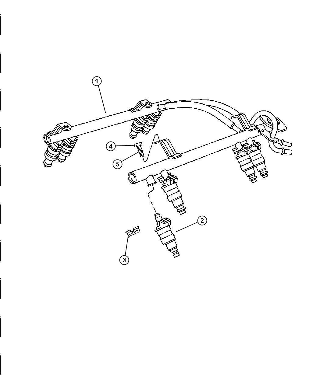 Dodge Clip Fuel Injector