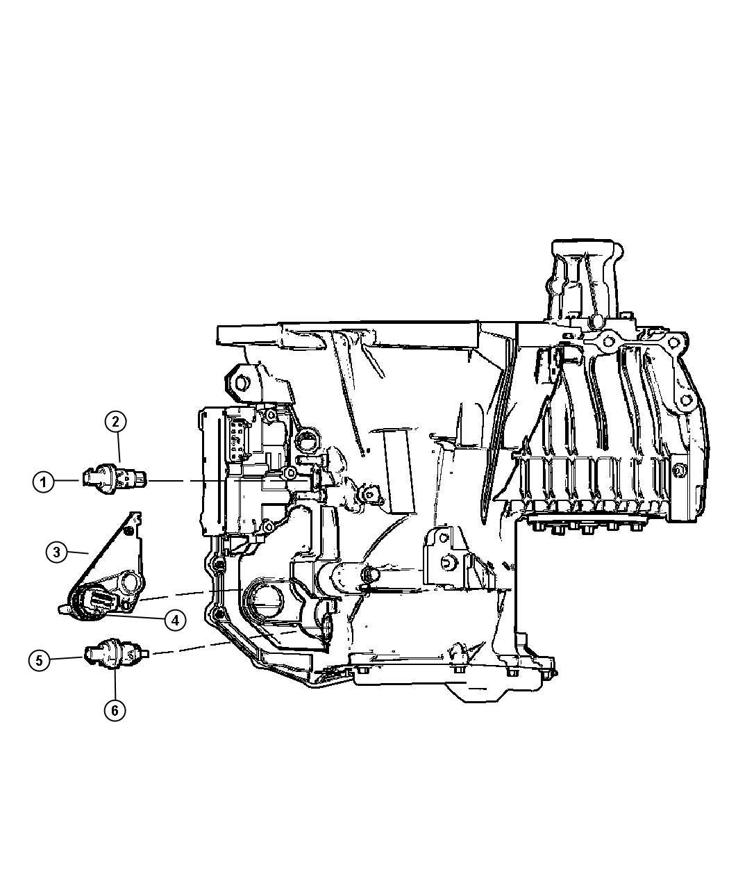 Dodge Intrepid Sensors Transmission