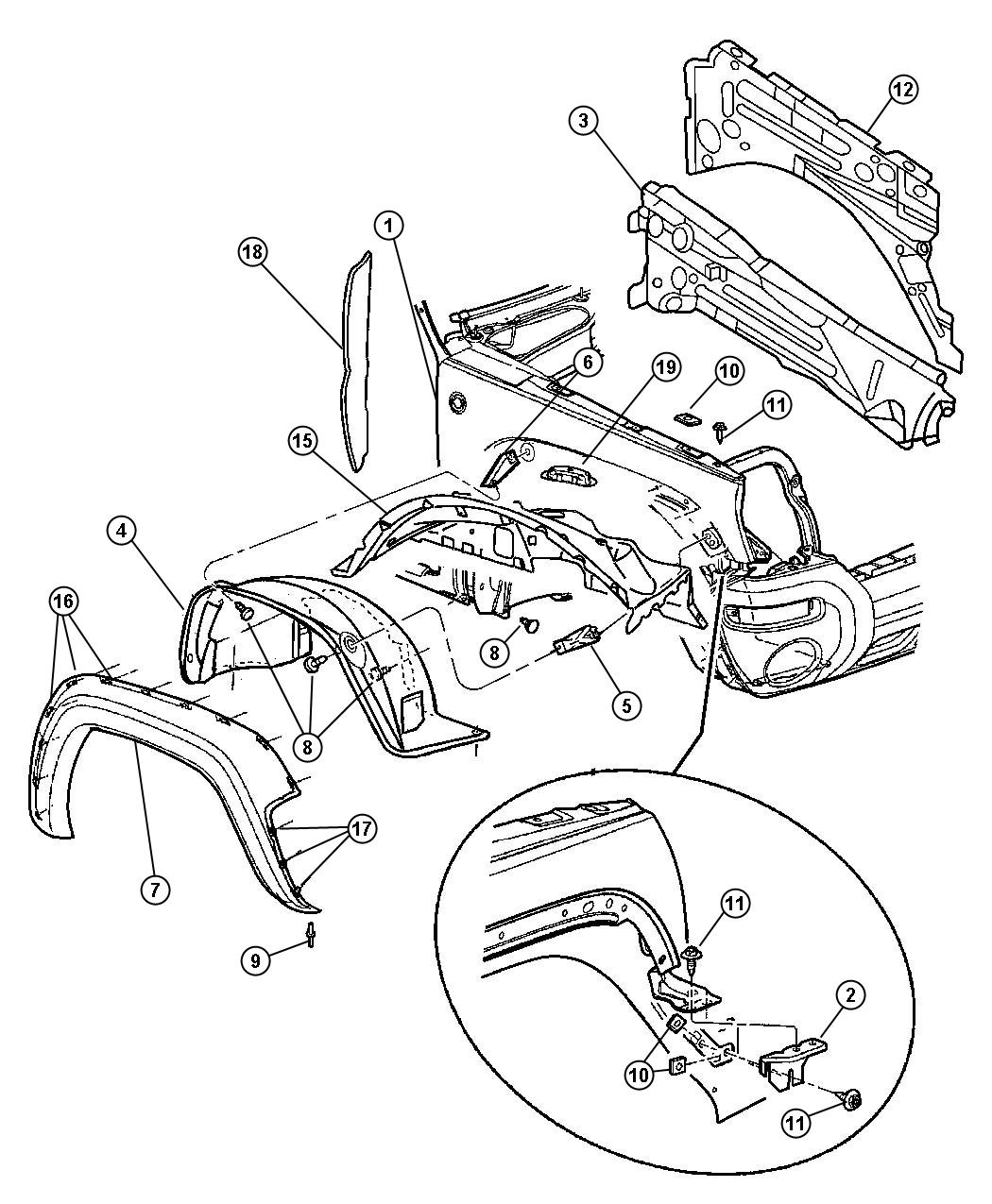25 Jeep Liberty Body Parts Diagram