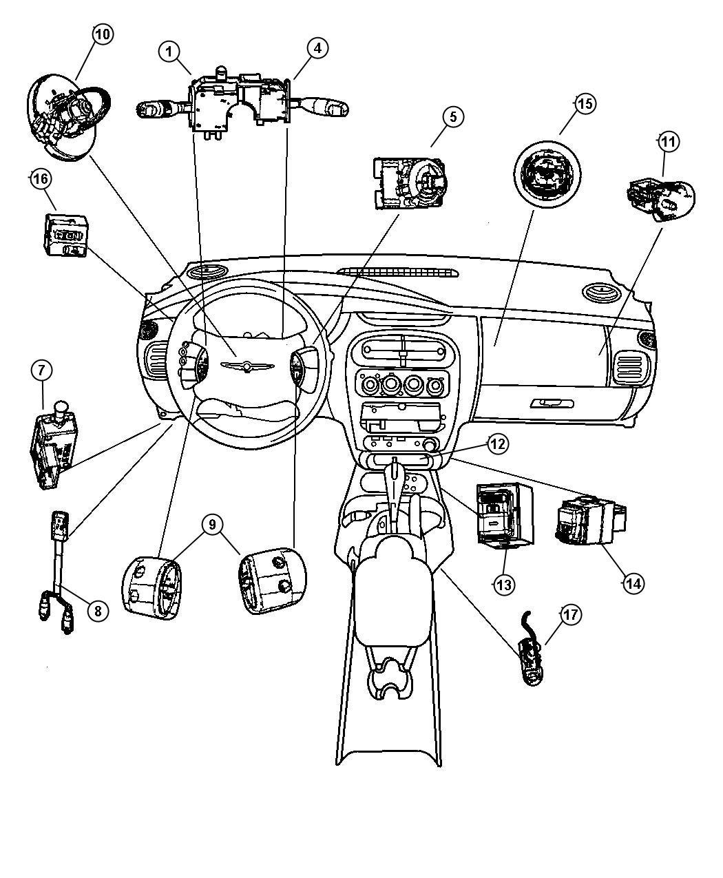 Ford Taurus Fuse Schematic