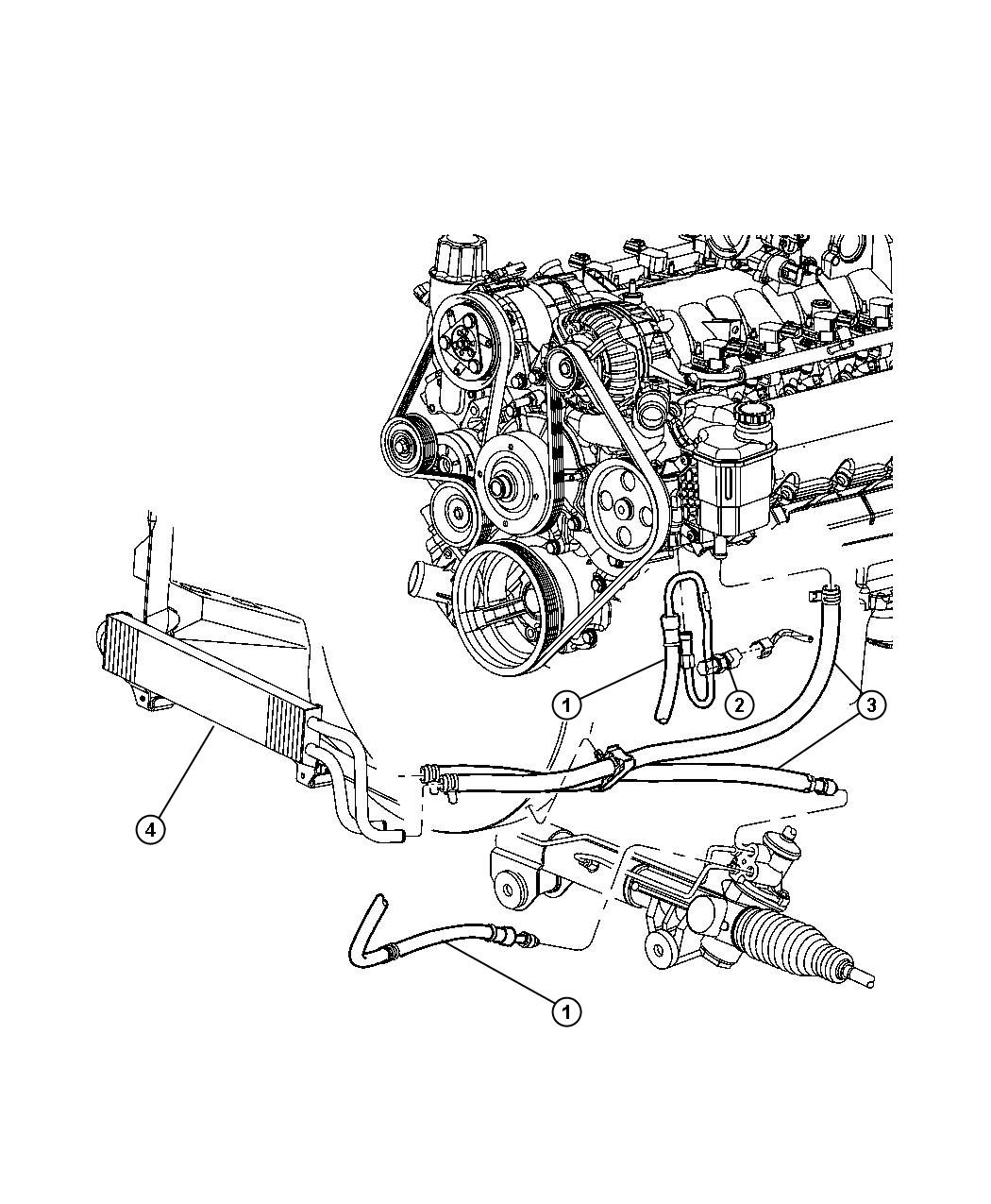 Dodge Ram Switch Power Steering Power Steering