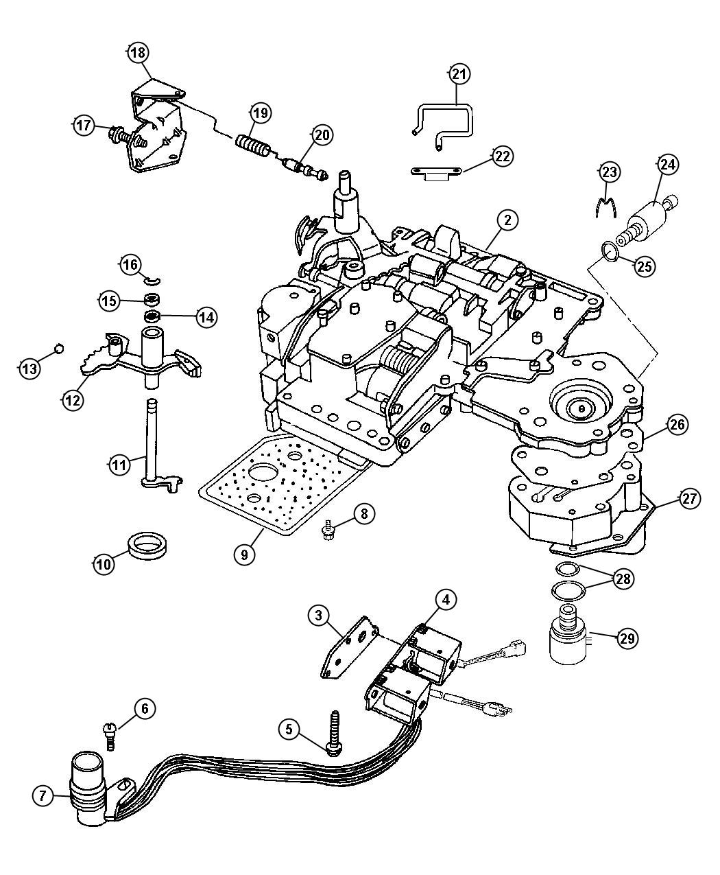 Dodge Ram Solenoid Transmission Overdrive